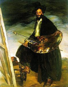 Pablo Uranga Diaz de Arkaia (1861–1934) was a Spanish painter. He lived in Paris for seven years before becoming a protégé of Ignacio Zuloaga, who he joined in travels to the United States and Cuba. After 1930, he dedicated himself to portraits for three years. He espoused a break with tradition yet worked within established techniques and styles so that classic and modern touches are found side by side in his work.  Portrait painted by Ignacio Zuloaga (1870-1945)