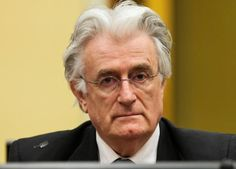 The Hague sentences Ex-Bosnian Serb leader to 40 years in jail for genocide, war crimes and crimes against humanity. Karadzic is the highest-ranking person to face a reckoning before the tribunal over a war in which 100,000 people were killed.    http://www.reuters.com/article/us-warcrimes-bosnia-karadzic-idUSKCN0WP2ZW