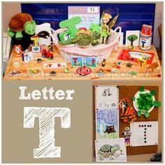 Home #Preschool Letter T
