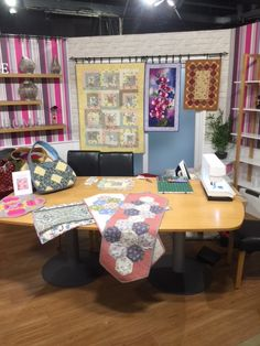Did you catch Julie and Sue on Hochanda this morning? Here's our fabulous set. Click the link to re-watch the show! Art And Hobby, Corner Desk, Craft Supplies, Workshop, Arts And Crafts, Watch, News, Link, Creative