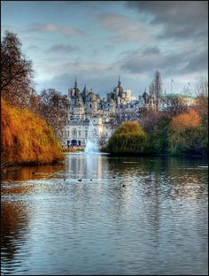 St James's Park Lake, London, England. Go to www.YourTravelVideos.com or just click on photo for home videos and much more on sites like this.