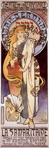 La Samaritaine Prints by Alphonse Mucha at AllPosters.com