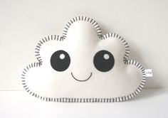 White Cloud Pillow, so sweet! Pin now, check out later! - pinned by pin4etsy.com