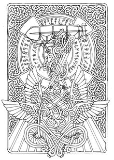 Schiffsplakette By Feivelyn Find This Pin And More On Celtic Coloring