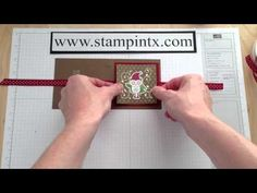 How to Create a Post-It-Note Holder - Great Christmas Gift Idea!