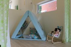 Prism triangle at the Infant and Toddler Atelier ≈≈