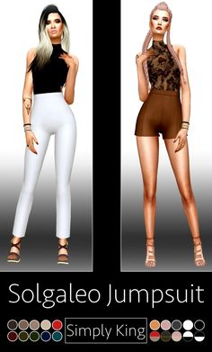 Solgaleo Jumpsuit at Simply King via Sims 4 Updates