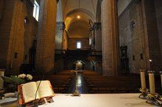 Iglesia San Miguel Arcángel de Larraga, Navarra, Spain.