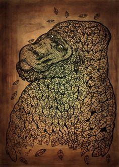 gorila otoñal