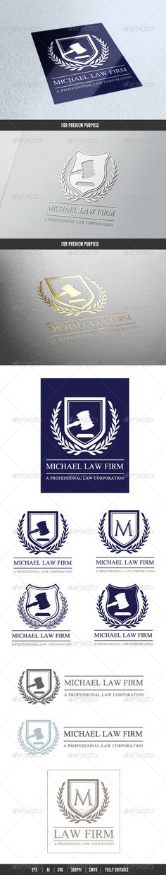 Law Firm #GraphicRiver Logo Description: The logo is Easy to edit to your own company name.The logo is designed in vector for highly resizable and printing. The Logo Pack includes. File format AI CS6,EPS CS6, EPS CS,EPS 10,SVG, AI Created Outlines. 100% vector (re-sizable). Color mode: CMYK. 300 PPI Help document with download link of the font used. Please rate if you like it !! Created: 12November13 GraphicsFilesIncluded: VectorEPS #AIIllustrator Layered: No MinimumAdobeCSVersion: CS…