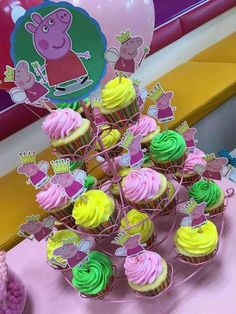 SweetCakesbyDari's Birthday / Peppa Pig 'Fairy' Themed Party - Photo Gallery at Catch My Party Fairy Birthday Party, Birthday Cake Girls, Birthday Party Decorations, It's Your Birthday, Birthday Celebration, Party Themes, Birthday Parties, Pig Birthday, Party Ideas