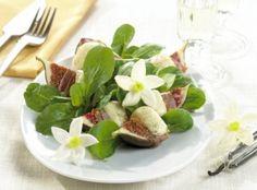 Italienischer Feigensalat mit Vanilledressing - Italian Fig Salad with Vanilla Dressing (in german)