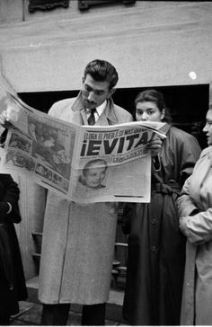 Evita is the woman!