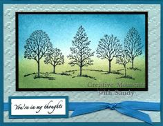 Stippled Lovely as a Tree by shulsart - Cards and Paper Crafts at Splitcoaststampers
