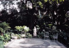 Villa Léon l'Africain garden design by Madison Cox. Madison Cox's design for the garden was inspired by Oliver Messel's film Suddenly Last Summer. Photo by Christopher Simon Sykes. The World of Interiors, December Garden Hedges, Villa, World Of Interiors, Summer Design, Outdoor Furniture Sets, Outdoor Decor, Previous Life, Beautiful Interiors, Garden Projects