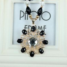 Korean Accessory Gemstone Beads Pendant Sweater Necklace 155 #madeinchina #necklace >http://dxurl.com/Ry8v