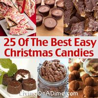 Here are 25 of the best easy Christmas candies all in one place! Many of these recipes can be made in just a few minutes and the result is oh so delicious! They are even gluten free!