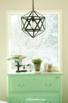 Mint Green dresser