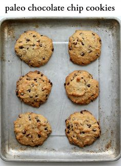 My favorite Gluten Free and Paleo Chocolate Chip Cookie Recipe from Make it…