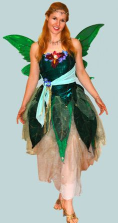 What a great homemade fairy costume! This costume was posted by