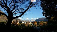 Tirol do Sul....a paisagem é cheia de contrastes, as folhas ficam vermelhas ou amarelas, alguns picos já estão brancos de neve, o céu de um azul intenso e as temperaturas no período da tarde são agradáveis!  Há muitas outras boas razões para escolher as férias no Tirol do Sul no outono! Mercados, festivais, castanhas, vinhos...   #dolomitas #viagens #travel #roteiros #italia