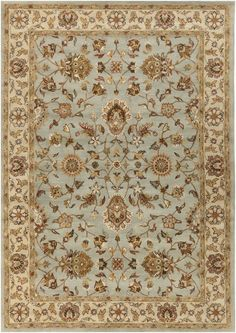 Plemmons Stone Blue Area Rug