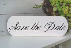 Save th date sign...handmade...www.meriland.at