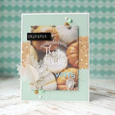 Thankful Thanksgiving Wishes by Lea Lawson at @studio_calico