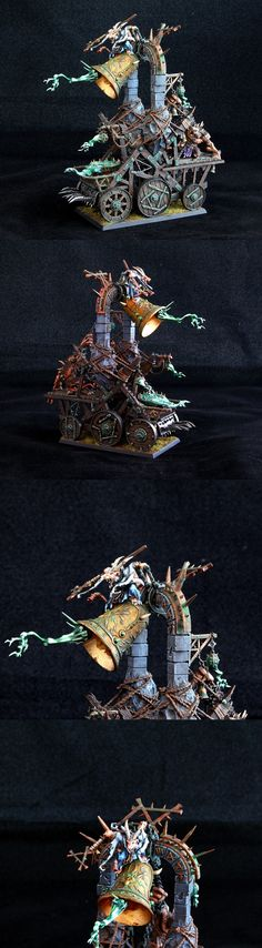 ferocity and dynamic of the skaven bell