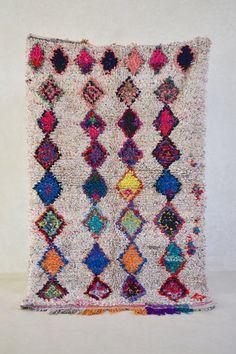 BOUCHEROUITE. Tappeto marocchino di theboucherouiteshop su Etsy