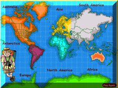 Great, free online Geography resources for homeschooling, after-school, or in the classroom.