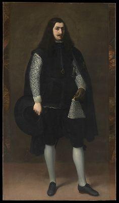 A Knight of Alcántara or Calatrava  Artist:Bartolomé Estebán Murillo (Spanish…