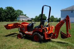 2008 Kubota BX24 BX Compact Tractor Backhoe Front End Loader NJ NY PA in Business & Industrial, Heavy Equipment, Tractors | eBay