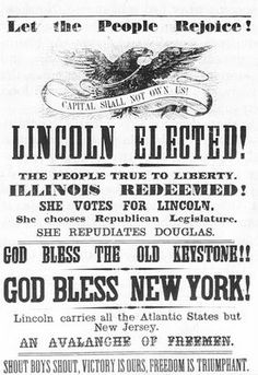 articles presidential elections from adams lincoln