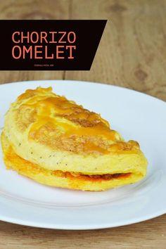 Chorizo Omelet - It's Really Kita