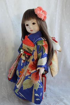 Beautiful Japanese doll