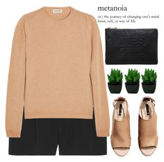 """""""metanoia"""" by evangeline-lily ❤ liked on Polyvore featuring Chloé, Jil Sander, H&M, Miss Selfridge, HM and chloe"""