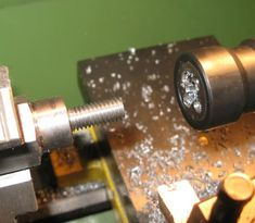 Clausing Lathe Carriage Micrometer Stop | lathe carriage stops