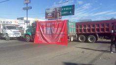CTM cierra accesos a la ciudad de Oaxaca.