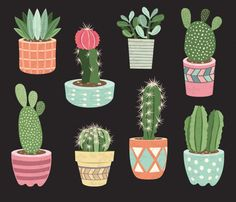 You will receive :You will receive 9 beautifully rendered separate PNG files (transparent background) which were created at Each clipart element is saved separately about Cactus Pot, Cactus Flower, Cactus Plants, Flower Pots, Cactus Terrarium, Flowers, Indoor Cactus, Indoor Plants, Potted Plants