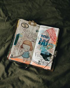 Dream High, My Journal, Altered Books, Travelers Notebook, Feelings, Creative, Pretty, Pictures, Instagram