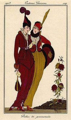 Robes de promenade - Armand Vallée (1884-1960)