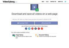 Video Cyborg 一鍵下載網頁內所有影片,儲存或影音或 MP3 格式