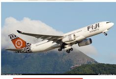 DQ-FJT       FIJI AIRWAYS    Airbus A330-200      Leaving Hong Kong's Chek Lap Kok
