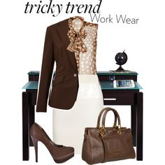 Tricky Trend Work Wear Contest by mokeitha on Polyvore