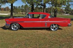 1958 Impala. *GASP* an Impala that's cute?! I don't even know what to make of this.