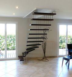 15 Meilleures Images Du Tableau Escalier Quart Tournant