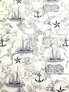 Nautical fabric, Nautical map cotton fabric for Quilting and general sewing projects. fabric crafts END of BOLT 1 Fat Quarter of Nautical fabric, Nautical map, Baby boy nautical fabric cotton fabric for Quilting and all sewing projects Quilting Projects, Sewing Projects, Galaxy Fabric, Map Fabric, Blue Fabric, Nautical Art, Nautical Prints, Stoff Design, Fat Quarter Quilt