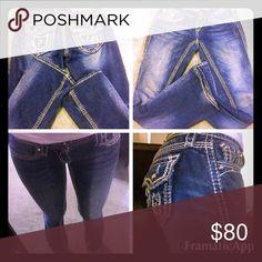 Rock revival KAI blow outs Rock revival KAI blow outs Rock Revival Jeans Boot Cut
