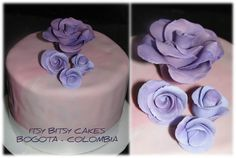PURPLE ROSES MINICAKE Purple Roses, Cakes, Desserts, Food, Tailgate Desserts, Deserts, Mudpie, Cake, Meals